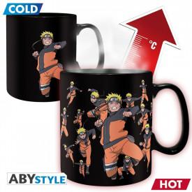 Naruto Shippuden - Mug thermo-réacvif Naruto Multiclonage