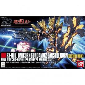 Mobile Suit Gundam Unicorn - Maquette Unicorn Gundam 02 Banshee Norn 1/144 HGUC