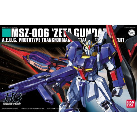 Mobile Suit Zeta Gundam - Maquette Zeta Gundam 1/144 HGUC