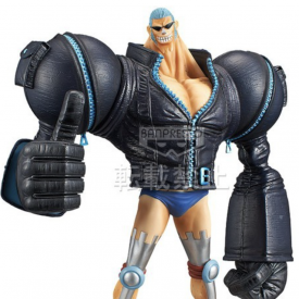 One Piece - Figurine Franky Grandline Men DXF Film Gold Vol.5