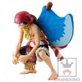 One Piece - Figurine Monkey D Luffy Scultures Big Film Gold
