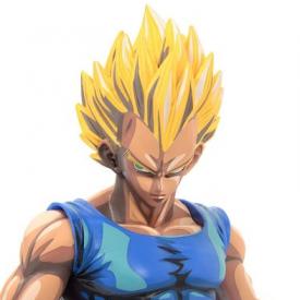 Dragon Ball Z - Figurine Vegeta Manga Dimensions Master Stars Piece image