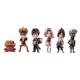 Naruto Shippuden - Pack WCF Naruto Shippuden Vol.1 Metallic Ver.