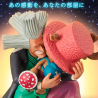 One Piece - Figurine Chopper et Dr Hiluluk Dramatic Showcase