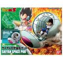 Dragon Ball Z - Maquette Vegeta et Capsule Figure-rise Mechanics Space Pod