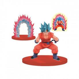 Dragon Ball Super - Figurine Sangoku SSGSS Kaioken Blue