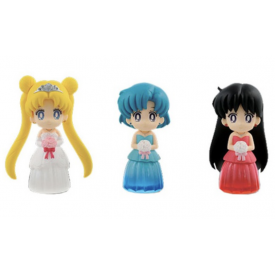 Sailor Moon - Pack de Figurines Cleard Colored Sparkle Dress Collection Vol.1 image