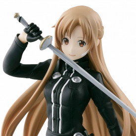 Sword Art Online - Figurine Asuna Black Swordswomen Ver. Ordinal Scale SQ Figure