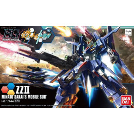 Gundam - Maquette Gundam ZZ II Minato Sakai's Mobile Suit 1/144 HGBF