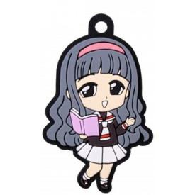 Sakura Card Captor - Keychain Tomoyo Daidouji Rubber Mascot