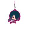 Boruto Naruto The Movie - Keychain Uchiwa Sasuke Rubber Mascot