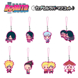 Boruto Naruto The Movie - Keychain Mitsuki Rubber Mascot