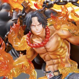 One Piece - Statue Portgas D.Ace HQS Tsume (Frais de Port Inclus) image