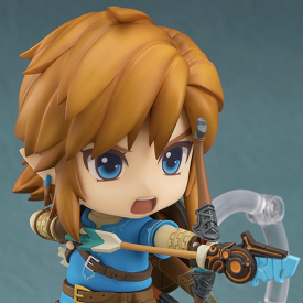 The Legend of Zelda Breath of The Wild - Figurine Link Nendoroid image