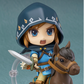 The Legend of Zelda Breath of The Wild - Figurine Link Nendoroid DX Edition