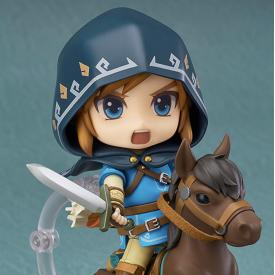 The Legend of Zelda Breath of The Wild - Figurine Link Nendoroid DX Edition image