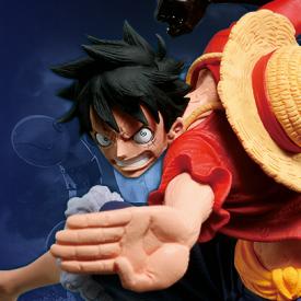 One Piece - Figurine Monkey D. Luffy  SCultures Big Zoukeio 6 Vol.3