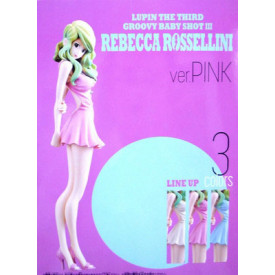 Lupin The Third - Figurine Rebecca Rossellini Ver Pink