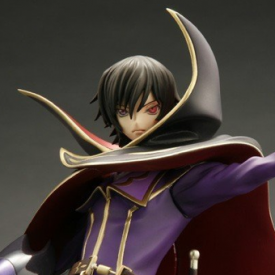 Code Geass - Figurine Lelouch Lamperouge Zero 10th Anniversary G.E.M Series image
