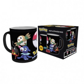 Pokemon - Mug Thermoréactif  Pokemon Attrapez Les Tous