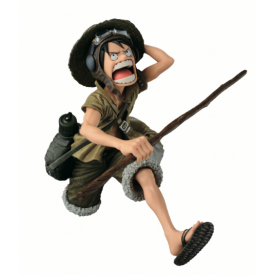 One Piece - Figurine Monkey D Luffy SCultures Big Special Color Ver.
