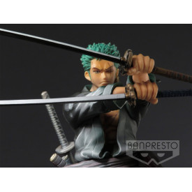 One Piece - Figurine Roronoa Zoro SCultures Big Shining Color Ver.