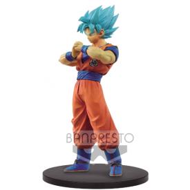 Dragon Ball Super - Figurine Sangoku SSJ Blue DXF Super Warriors Vol.4