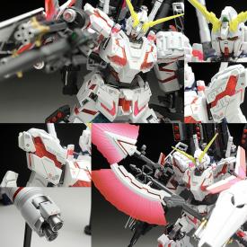 Gundam - Maquette Full Armor Unicorn Gundam 1/144 HGUC