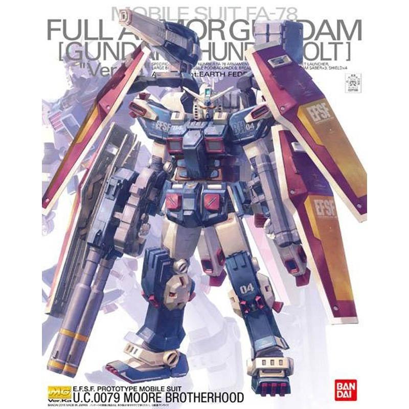 Gundam - Maquette Full Armor Gundam Ka Ver. MG 1/100
