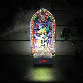 Zelda - Lampe Link Vitrail USB