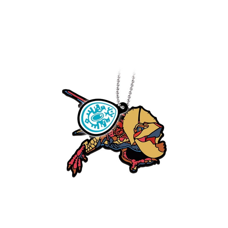 Monster Hunter Stories - Yian Kut-Ku Porte clés Rubber Mascot