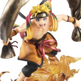 Naruto Shippuden - Figurine Uzumaki Naruto Fujin G.E.M. Series Remix