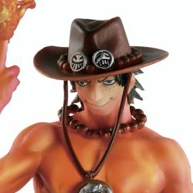 One Piece - Figurine Portgas D. Ace Scultures Burning Color Ver. image