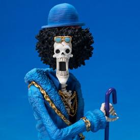One Piece - Figuarts Zero Brook 20th Anniversary Diorama image
