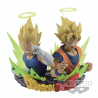 Dragon Ball Z - Figuration Buste Sangoku et Vegeta Vol.2 former un superbe diorama.