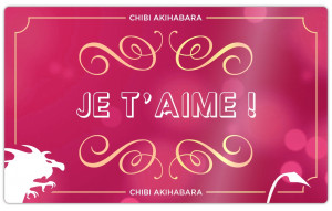 Je t'aime (Rose & Or)