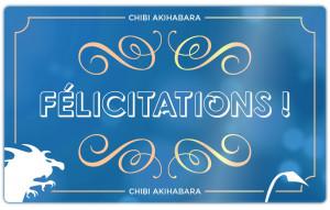 Félicitations (Bleu)
